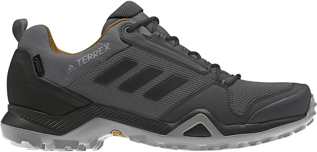 adidas TERREX AX3 GTX Shoes Herren grey fivecore blackmesa